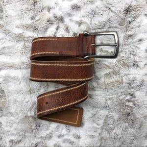 Levi's Light Brown Leather Belt Mens Size Medium